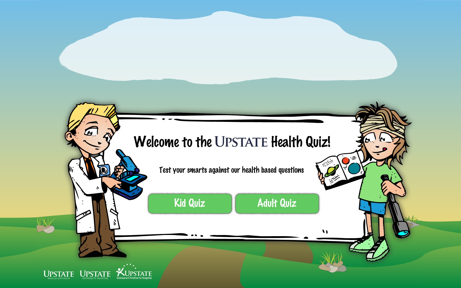 Upstate Quiz Game